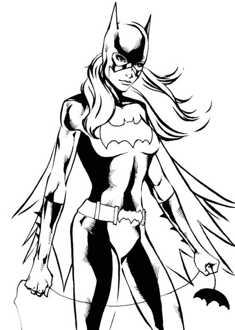 Gotham City Batgirl Coloring Pages Best Place To Color Batgirl Coloring Pages