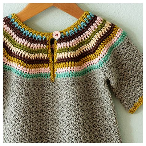 free pattern crochet yoke free yoke sweater pattern lena patterns