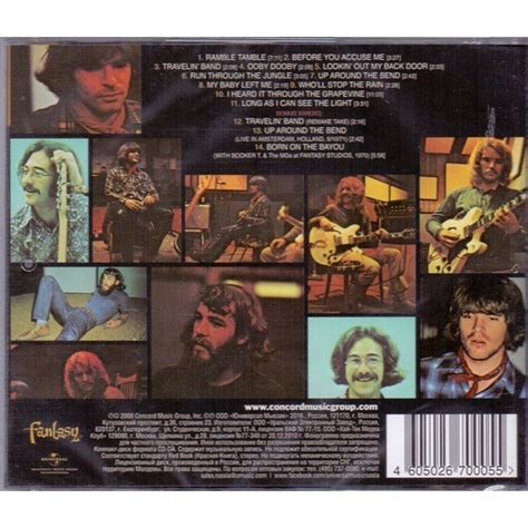 Cd Creedence Clearwater Revival Cosmo S Factory 2 Cosmo S Factory By Creedence Clearwater Revival Cd With