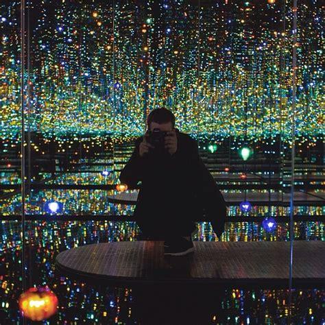 the infinity mirror room new yayoi kusama infinity room at david zwirner in new york