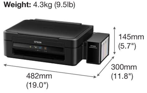 Spesifikasi Printer Epson L220 printer epson l220 harga jual spesifikasi printer mangga dua glodokprinter