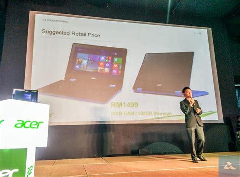 Harga Acer R11 acer melancarkan aspire r11 menggunakan windows 10 di