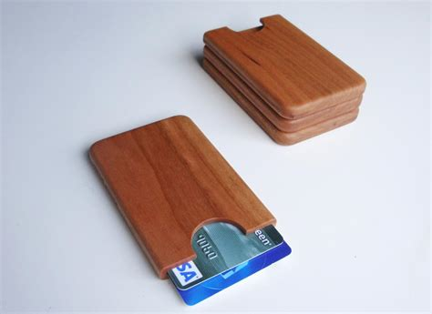 Handmade Business Card Holder - handmade wooden business card holder gadgetsin