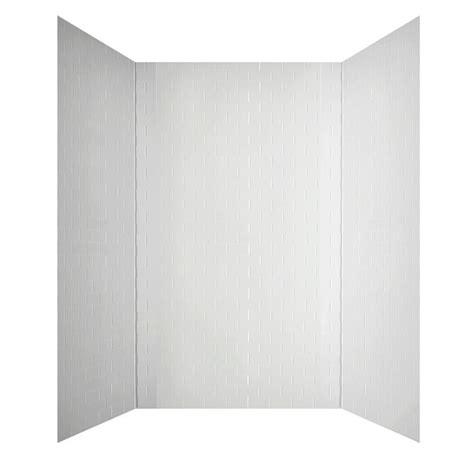 shop mirroflex subway tub walls white fiberglass and