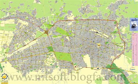 mashhad map index of image