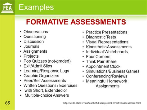 Student Growth Objectives In All Content Areas Ppt Download Common Formative Assessment Planning Template