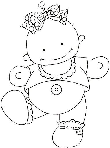 coloring page it s a baby girl crafts actvities and worksheets for preschool toddler and