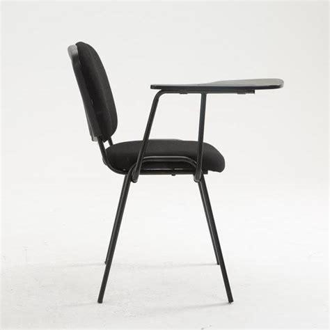sedie conferenze sedia conferenze moby con scrittoio colore nero gambe