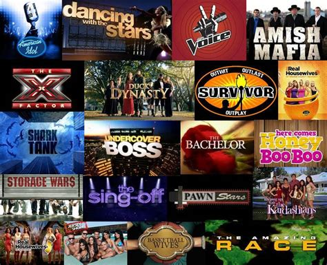 reality shows what are the types of reality tv shows auditions miami