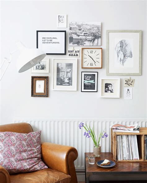 raising hill gallery wall inspiration how to make a rented property feel like home fads
