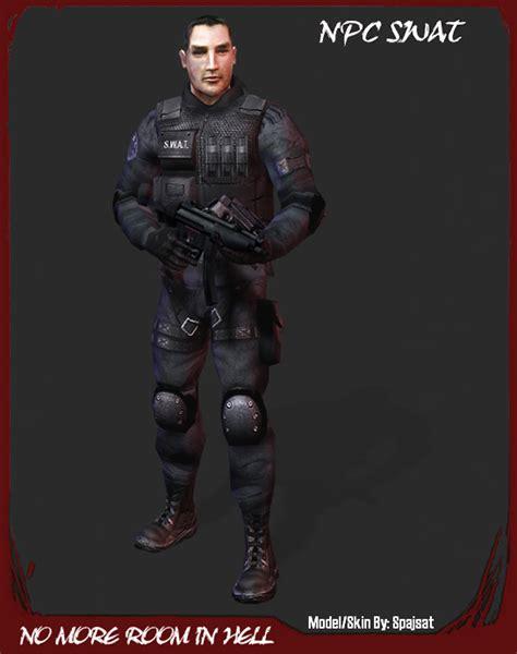 no more room in hell mods swat team member image no more room in hell mod for half 2 mod db
