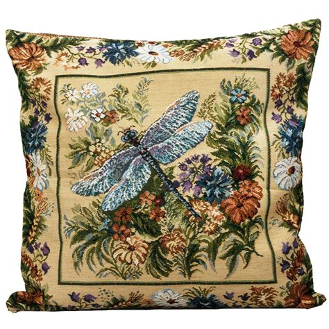 tapestry pillows for couch dragonfly decorative tapestry throw pillow product sku j