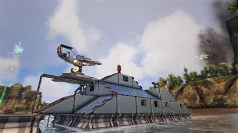 motorboat on ark ark motorboat build 2 youtube