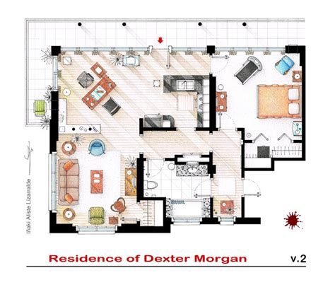 tv shows about home design floor plans of the most famous tv shows