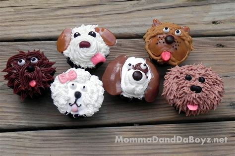 puppy cupcakes puppy cupcakes momma d and da boyz