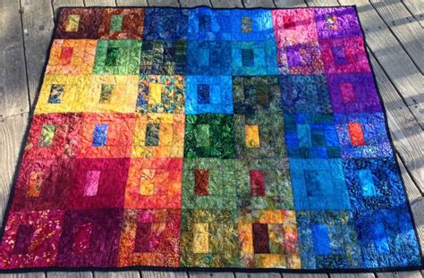 pin by eileen kendall on rainbow quilt ideas