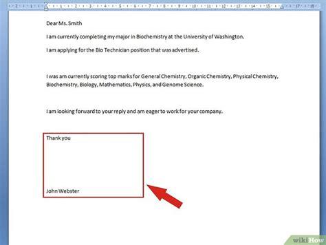 Mit Freundlichen Grüßen Zeilen Ein Deckblatt Erstellen Wikihow