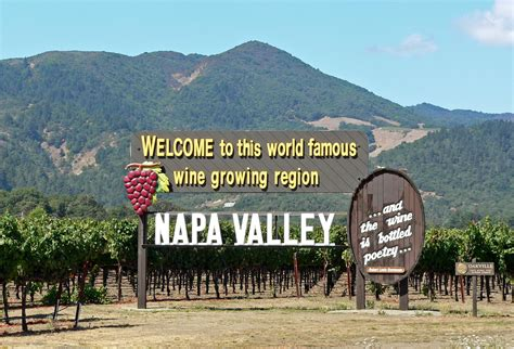 Photo Napa Valley by File Napa Valley Welcome Sign Jpg