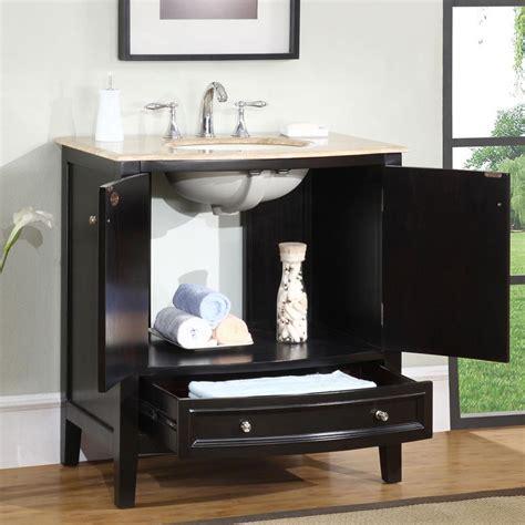 bathroom vanity plus g4080 32 single sink vanity travertine top cabinet