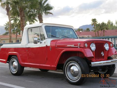 mint   jeepster commando  truck  cab  match magazine award winner