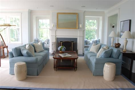 cape cod nobscot style living room boston