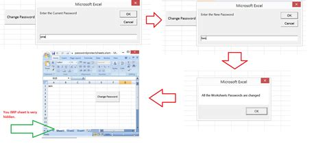 reset vba password proxoft excel vba change passwords for all the worksheets in one