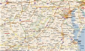us map va virginia map