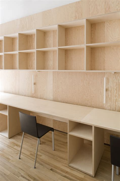 Plywood Office Desk Real Terms The Authentic Approach Of Architects Carmody Groarke Plywood Design And Plywood