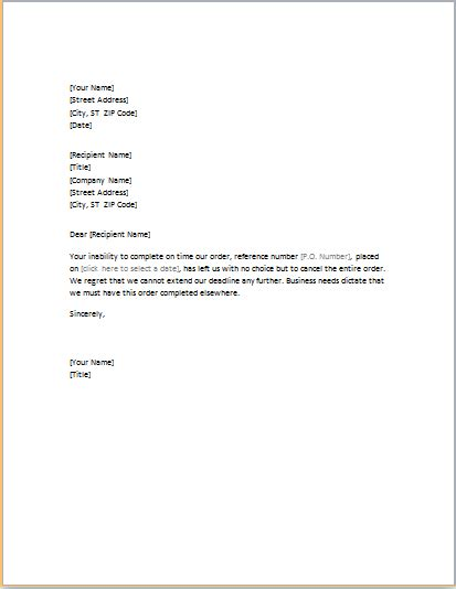 professional business letter templates formal word templates