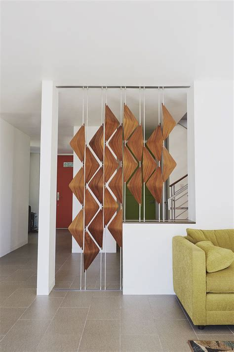 living room screens modern room dividers the walnut window shades act as a
