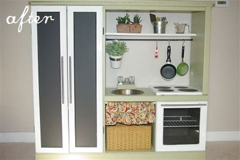 9 old furniture 10 fantastic diy play kitchens tv stand 10 fantastic diy play kitchens parenting