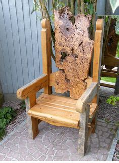 Handmade Garden Furniture - build a throne chair search the nutcracker
