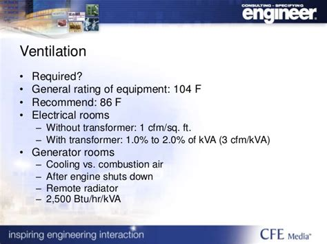 engine room ventilation requirements 2017 2018 2019