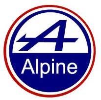 Renault Alpine Logo Diginpix Entity Alpine Renault
