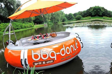 Donut Boat nextcrave bbq donut boat