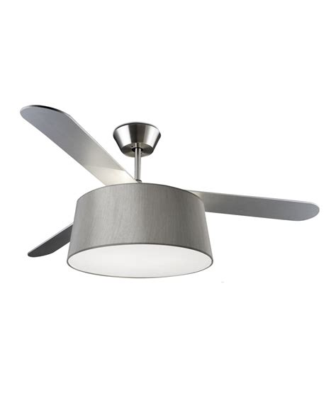 Modern Ceiling Fan With Light And Drum Shade Ceiling Fan Drum Light