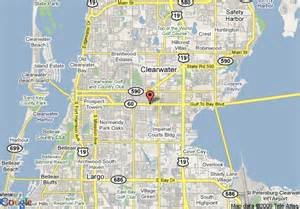 map of ramada limited and suites clearwater clearwater