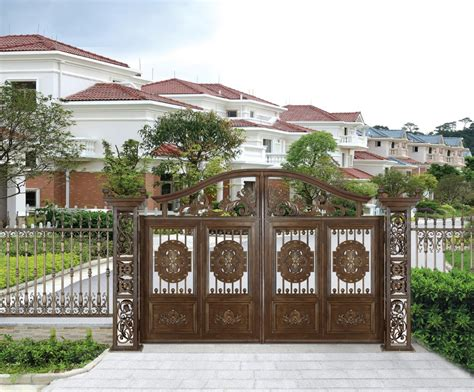 2016 china producer aluminum gate design used