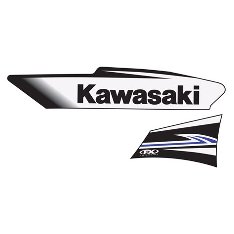 Kawasaki Oem by 2011 Kawasaki Oem Graphics Kx65 02 13