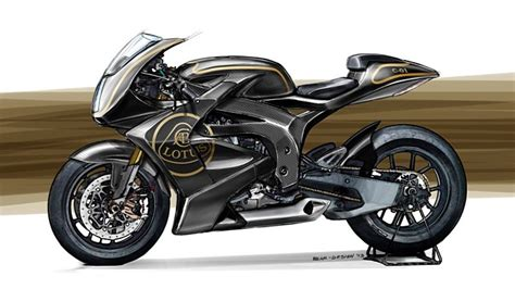 Lotus Motorrad by The First Lotus Motorcycle Imagined By Luca Bar