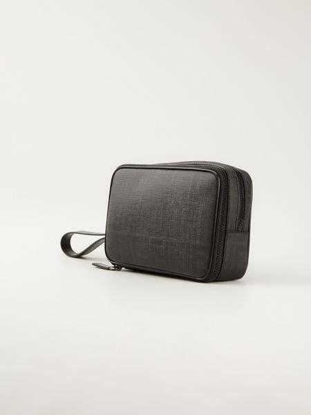 Fendi Clutch Black fendi functional clutch bag in black for lyst
