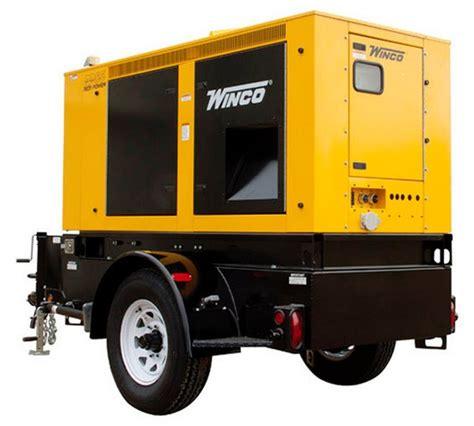generator 45kw mobile diesel rp55 redi power