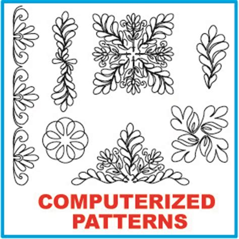 Computerized Longarm Quilting Designs computerized quilting patterns