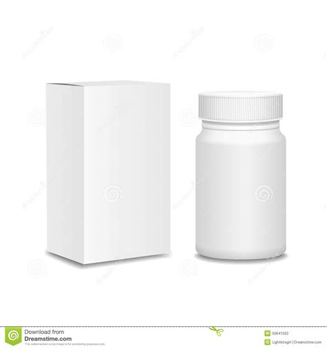 blank packaging templates blank medicine bottle and package isolated on stock vector illustration of aspirin container