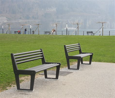 bench city city bench type v with backrest exterior benches from