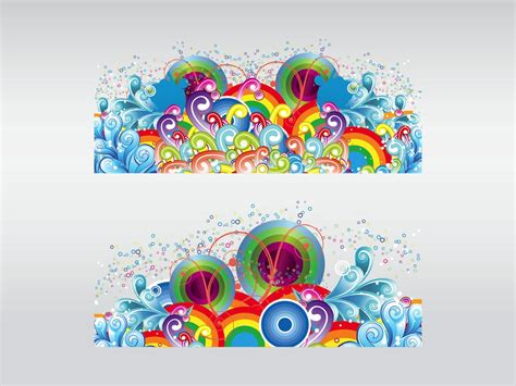 free design elements colorful design elements vector art graphics