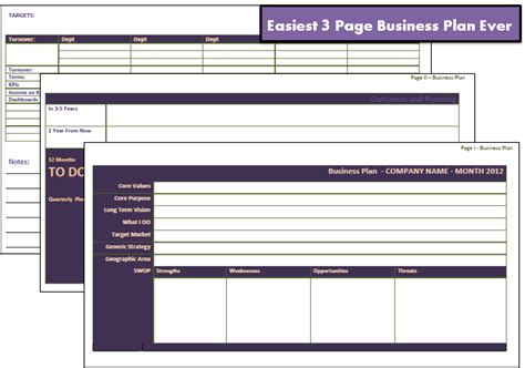 how to write business plan proposal new calendar