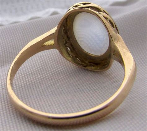 antique moonstone gold ring for sale at 1stdibs
