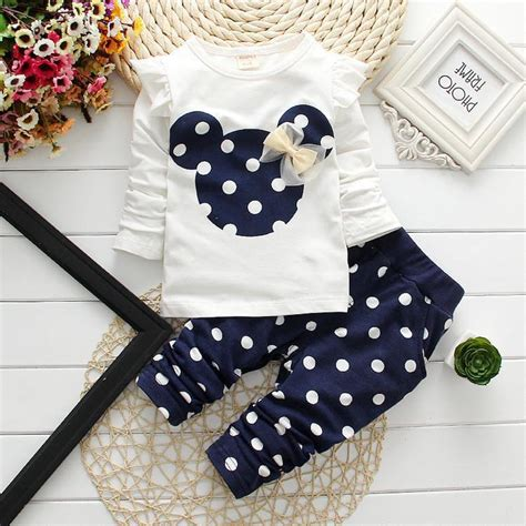 Legging Fashion Baby Sorex K5303 2016 new t shirt baby suits 2 pcs fashion clothing sets minnie