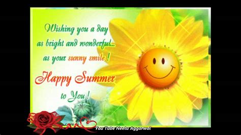 happy summerwelcome summer season wishesgreetingsquotessmsmusice cardwhatsapp video